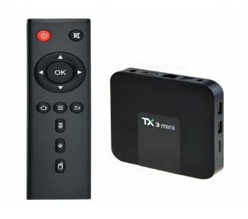 Click Image for Gallery TX3 Mini Android TV Box 2GB RAM TX3 Mini Android TV Box 2GB RAM  +8801742230494 TX3 Mini Android TV Box 2GB RAM