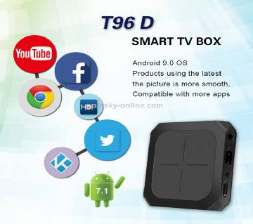 T96D smart android 7.1 os 1gb  ram 8gb