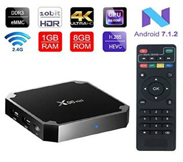 X96 mini TV Box 1GB RAM + 8GB ROM