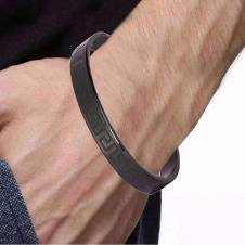 stainless steal cuff bracelet for men