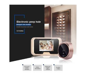 Smart Doorbell TF Card (32GB Max) & Motion Detection with  Infrared Night Vision