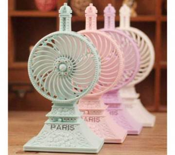 USB Paris Mini Tower Fan
