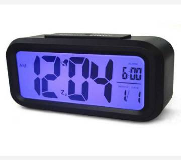 LCD ডিজিটাল এলার্ম টেবিল ক্লক