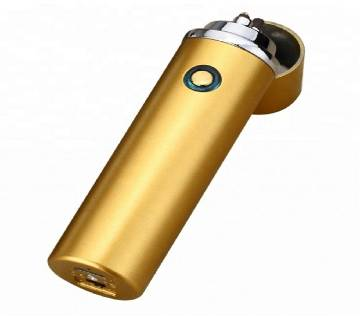 AR Electric Double Arc Usb Lighter Recharge Flameless Plasma Torch Electric Lighter Metal Body Premium Quality