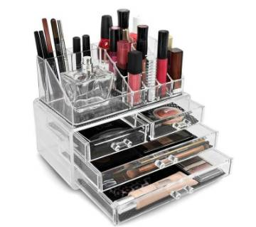 makeup up box organizer