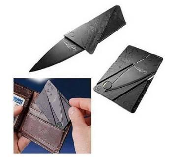 folding pocket knife - black