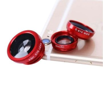 Mobile Zoom Lenses - Red