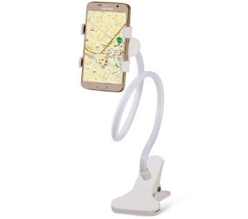 360 Rotate Mobile and Tablet Stand - White