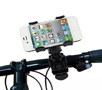 Driving Time Mobile Phone Holder for Bike and Bicycle - Black