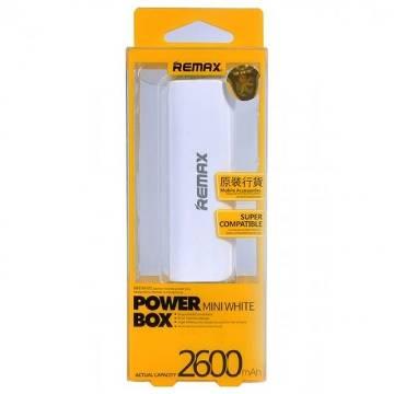 REMAX Mini Power Bank 2600mAh - White