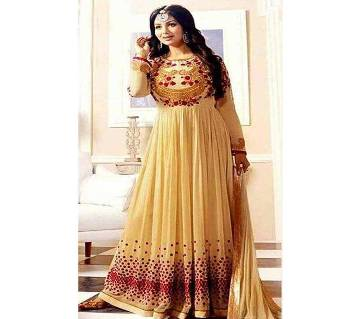 Unstiched Georgette Gown For Women (Copy)