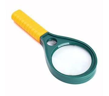 90mm magnifying glass yellow and green