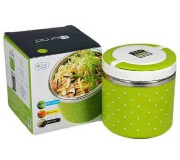 Single layer lunch box