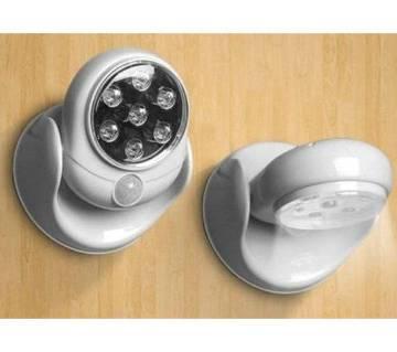 Cordless outdoor led motion sensor light