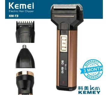 kemei 4in1 multigrooming kit with flashlight