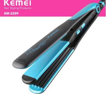 kemei hair straightener with curling