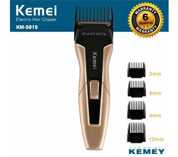 Kemei KM-5015 Rechargeable Hair Clipper