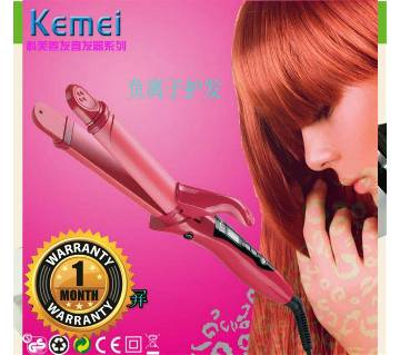 kemei 2in1 hair styling iron