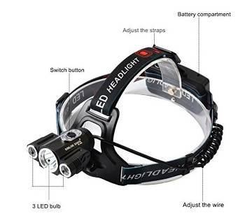 Multi-function travel and bicycle headlight