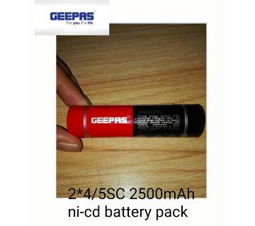 Geepas rechargeable battery pack