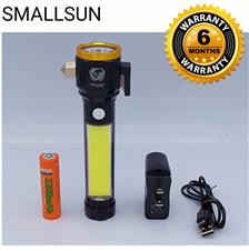 Smallsun servile torch light with solar panel