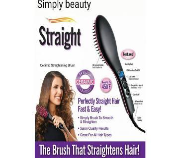 Simply Beauty Hair Straightener Brush