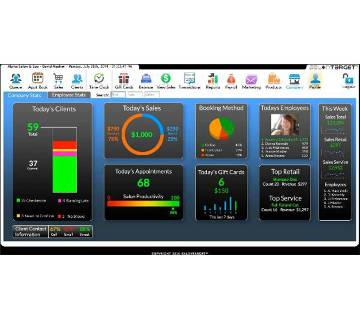 Parlor Management System Software