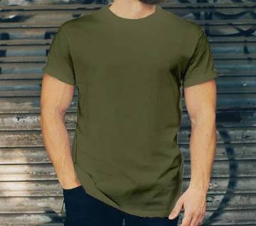 BIKE BLACK Half Sleeve COTTON T-SHIRT For Men