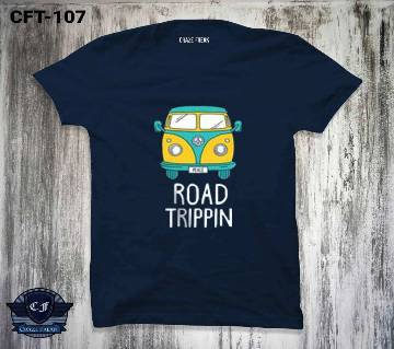 ROAD TRIPPIN COTTON T-SHIRT