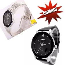 Bariho Couples Wrist Watch Combo Copy