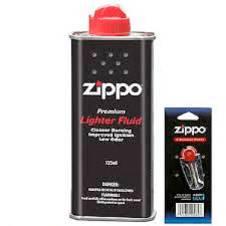 Zippo FLINT pack, FLUID can - Combo Offer