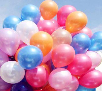 Party ballons Multicolour 100 pieces