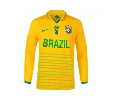 World Cup 2018 Brazil Full Sleeve Home Jersey (Copy)