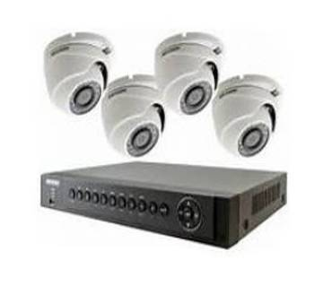 CCTV Package Starex 4 Channel DVR 4 Camera 500GB Hard disk