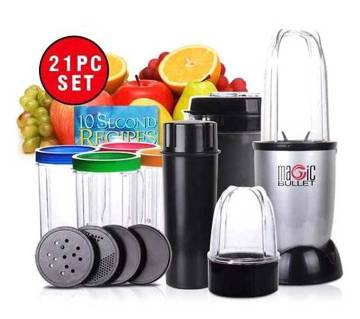 MAGIC BULLET blender- 21 pieces set
