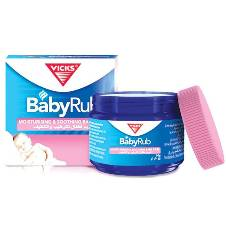 Vicks Baby Rub Soothing Ointment - 50gm