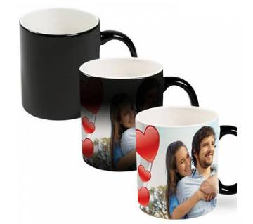 Valentine Color changing magic mug