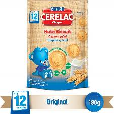 Nestle Cerelac Nutri Biscuit Original - 180g