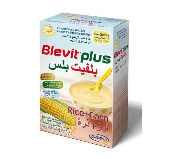 Blevit Plus (Rice + Corn) Cerelac - 300gm (Spain)