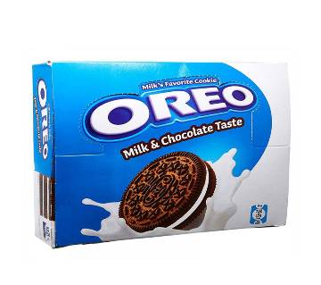 OREO Chocolate Flavored Milk Cookie Family Pac (16 x 38g)