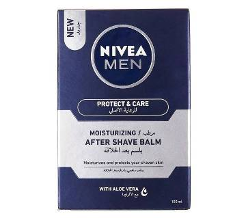 Nivea Men Protect & Care Moisturizing After Shave Balm - 100ml - Germany