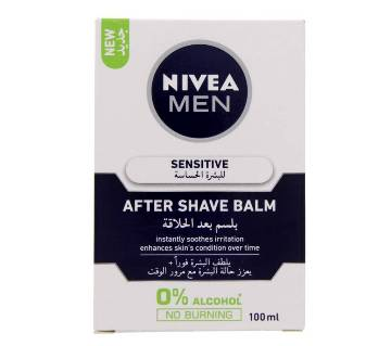 Nivea Men Sensitive After Shave Balm - 100ml - Germany