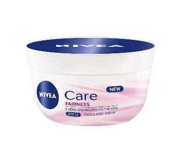 Nivea Care Fairness Face & Body Cream - 100ml - Germany
