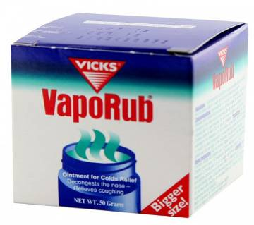 Vicks VapoRub Ointment - 50g - Germany