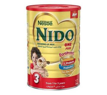 Nestle NIDO One Plus Milk - 1.8kg (Dubai)