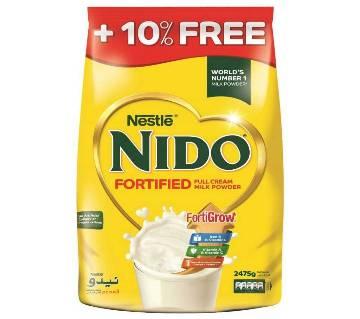 Nestle NIDO Fortified Full Cream Milk- 2.4kg (Dubai)