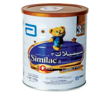 Similac - 3 Intelli-Pro Formula Milk Powder - 1700gm - Ireland
