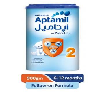 Aptamil - 2 Follow On Formula Milk - 900g - Poland