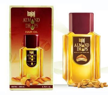 Bajaj Almond Drops Non Sicky হেয়ার অয়েল - ২০০ মিলি India