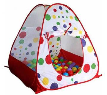 Kids toy house with 50 balls